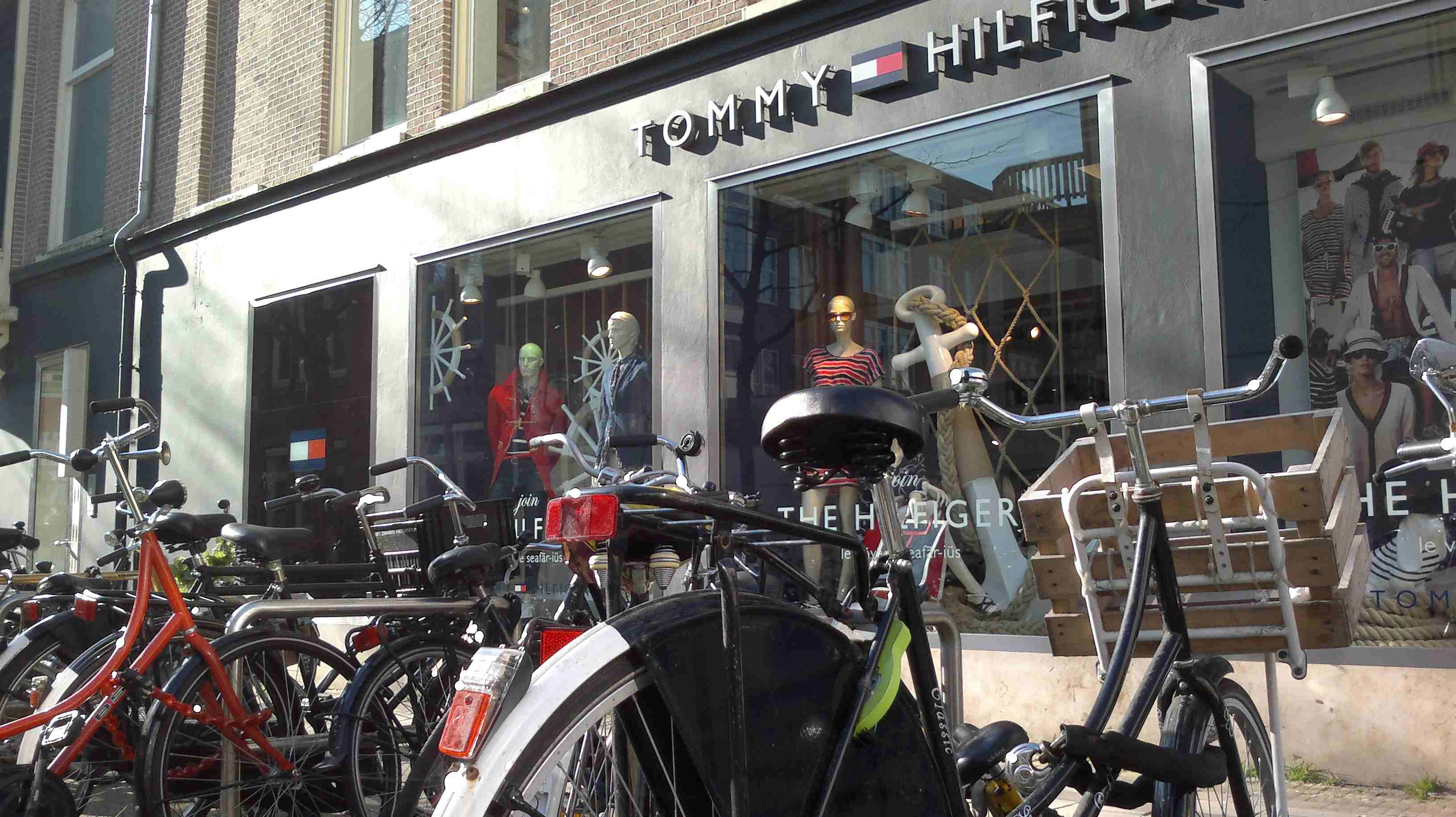 omabikes and Tommy Hilfiger